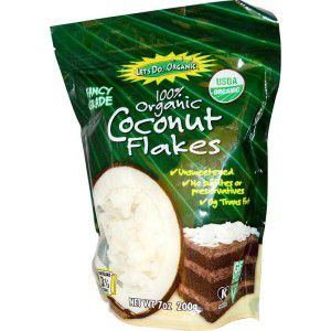 Organic Coconut Flakes, Unsweetened