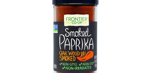 Копченая паприка Frontier Natural Products, Smoked Paprika, Oak Wood Smoked